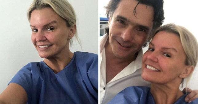 Kerry Katona with cosmetic surgeon before boob job