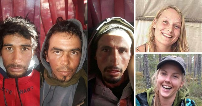 The three Moroccan jihadist suspects are facing the death penalty for murdering two Scandinavian hikers