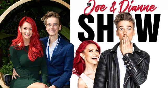 Joe Sugg and Dianne Buswell announce live show tour