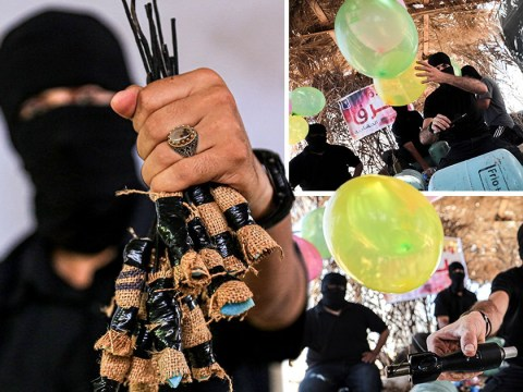 Balloon bombs stopped from entering Israel from Gaza Strip at the last minute