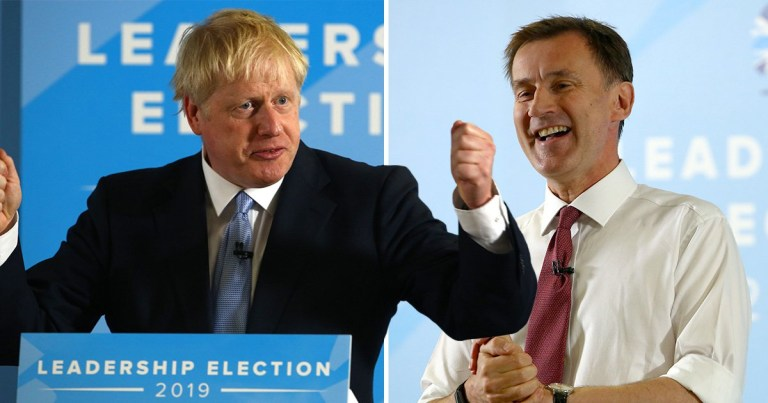 Boris Johnson refused to say if he would have Jeremy Hunt in his cabinet