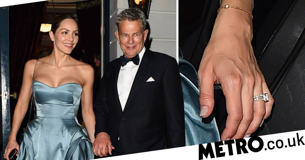 Katharine Mcphee And David Foster All Loved Up At Wedding