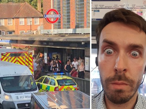 Chaos as commuters trapped on trains for hours on hottest day of the year