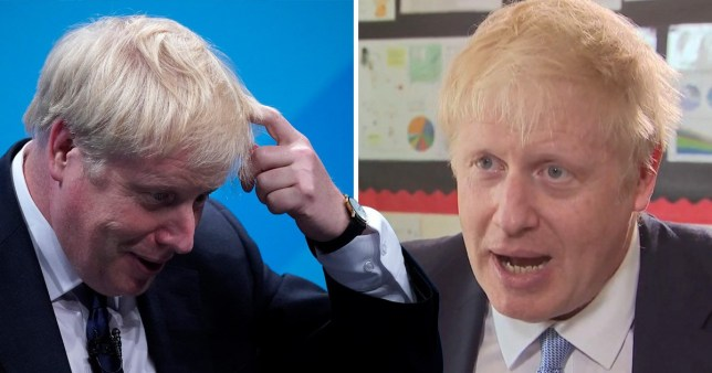 Boris Johnson said racist and offensive remarks made in the past about gay men, black people and burkas were 'satirical'