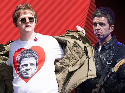 Lewis Capaldi hopes Noel Gallagher sees his hilarious Glastonbury performance: 'I love him to bits'