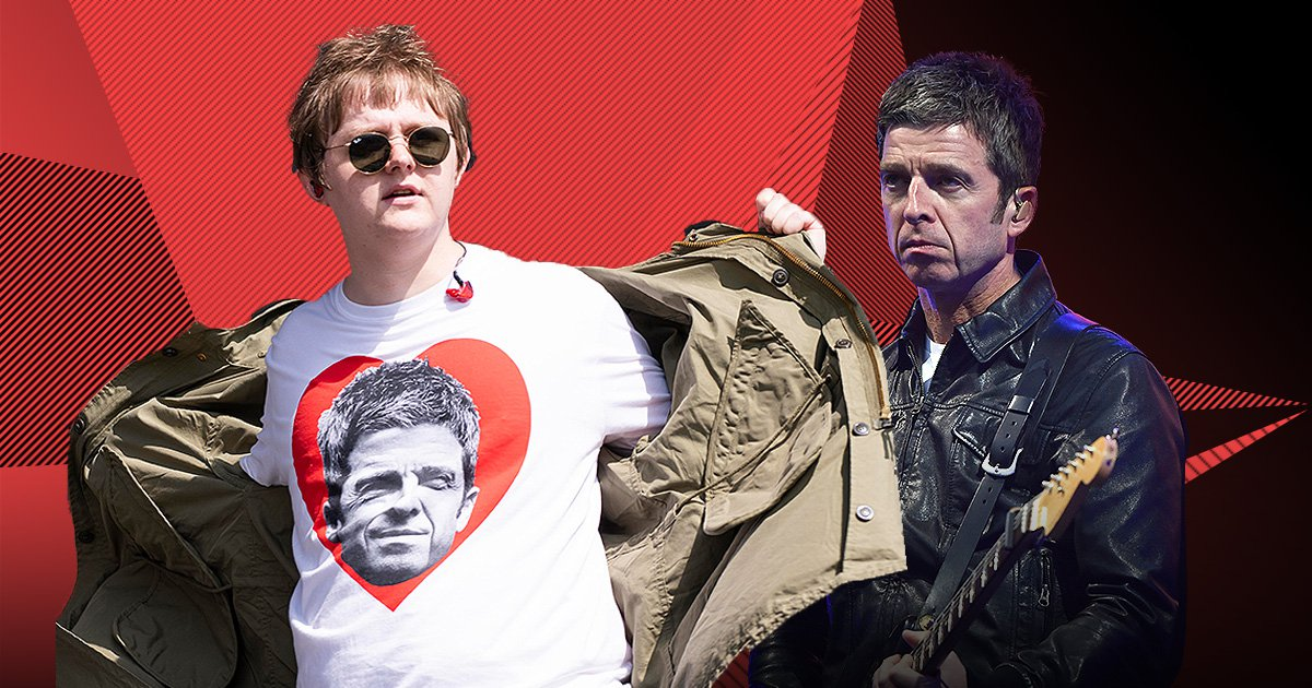 Lewis Capaldi and Noel Gallagher