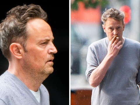 Friends star Matthew Perry seen in public again looking relaxed on stroll with pal