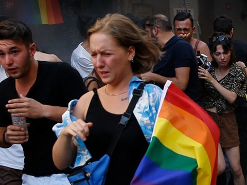 Turkish police fire tear gas at banned Istanbul LGBT Pride parade