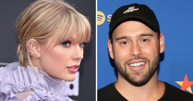Taylor Swift and Scooter Braun fued never ends