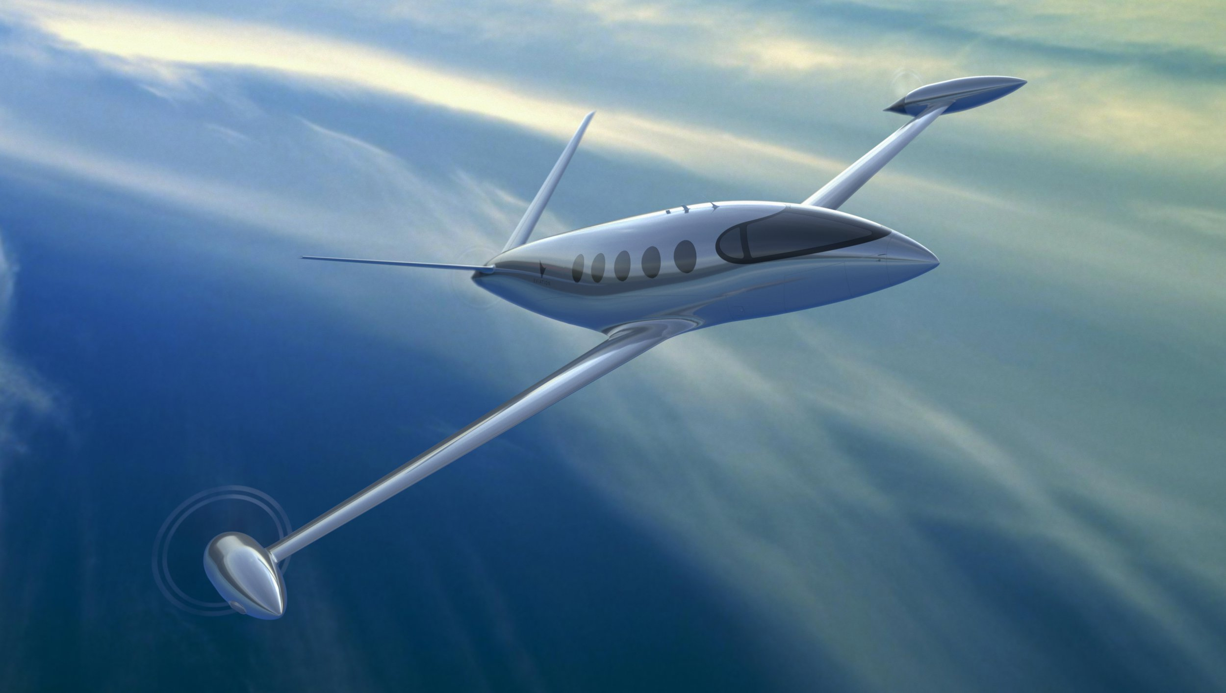 This is Alice. It'll fly 9 people around with 0 emissions (Eviation Aircraft)