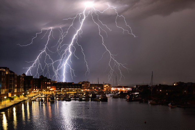 Britain braced for tornadoes after night of thunderstorms and floods