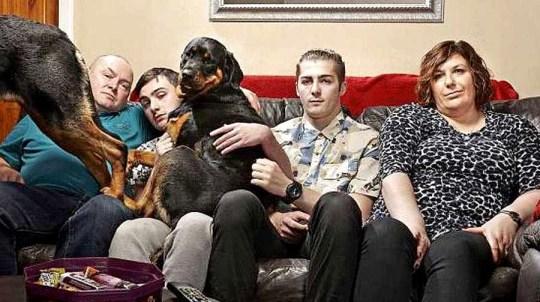 Gogglebox Malone family