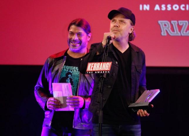 Kerrang Awards 2019 winners: Metallica and Jimmy Page honoured
