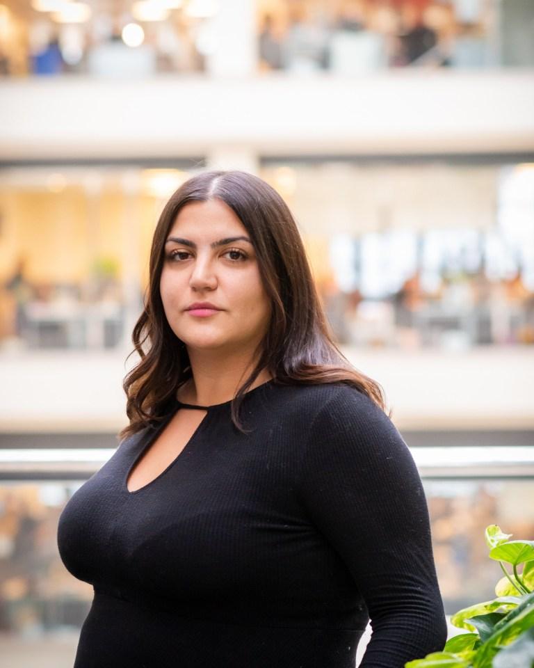 Almara Abgarian who has an invisible illness called gastroparesis