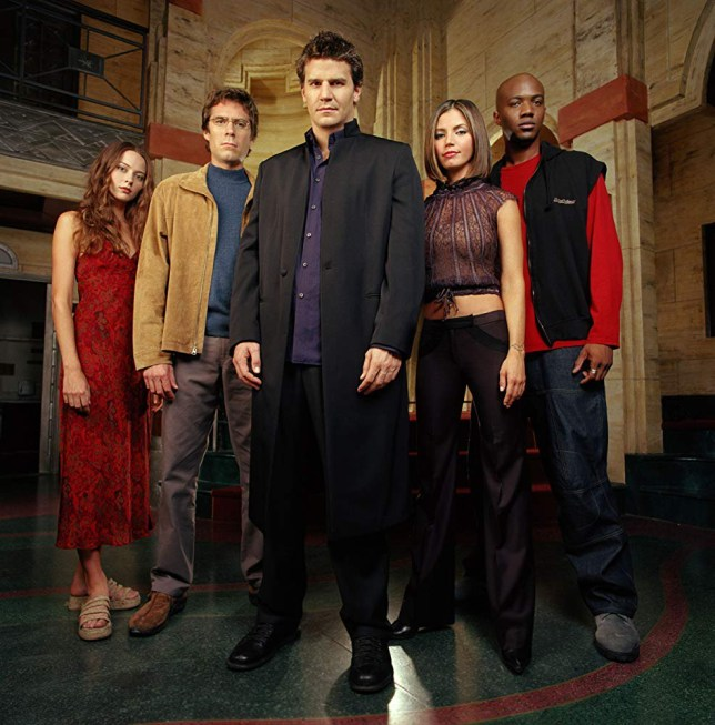 The cast of Angel reunite for the show's 20th anniversary