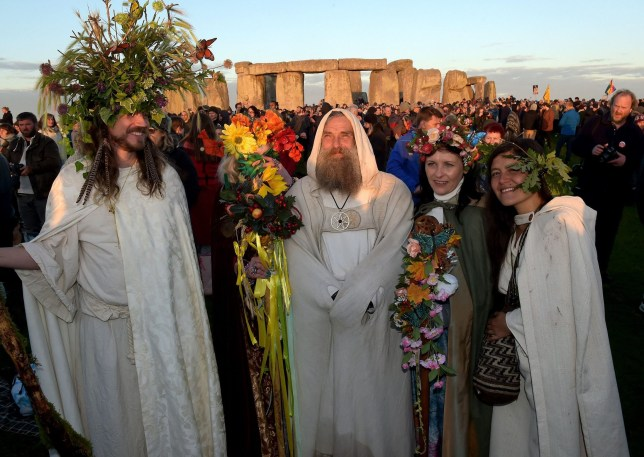 Winter Solstice is observed at Stonehenge