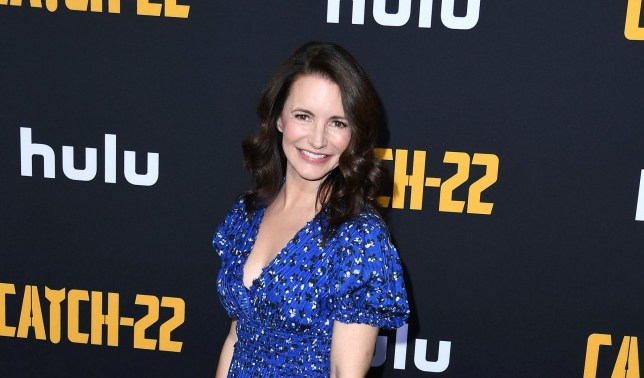 "HOLLYWOOD, CALIFORNIA - MAY 07: Kristin Davis arrives at the U.S. Premiere Of Hulu's ""Catch-22"" at TCL Chinese Theatre on May 07, 2019 in Hollywood, California. (Photo by Steve Granitz/WireImage)"