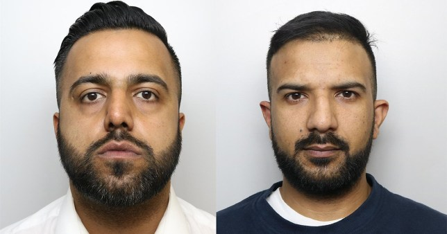 Grooming gang sentencing Mohammed Akram, 33, and Usman Khalid, 31, were two of the men who abused Huddersfield grooming gang survivor Girl N between 2004 and 2011. Provider: West Yorkishire Police