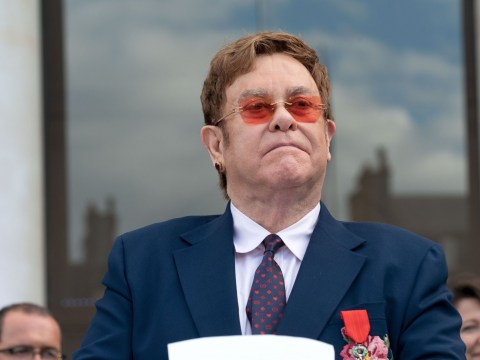 Elton John awarded France's highest civilian award, the Legion d'Honneur