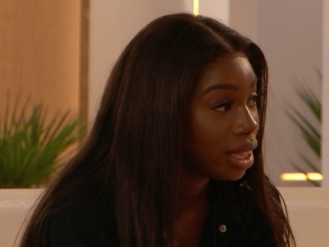 Love Island's Yewande Biala calls Danny Williams and Arabella Chi for awkward chat and fans are living for her energy