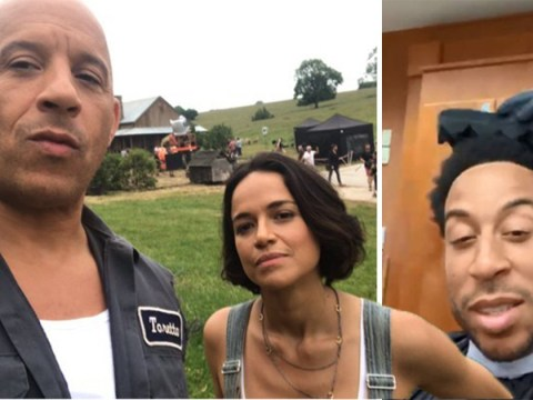 Vin Diesel and Michelle Rodriguez arrive in London for Fast & Furious 9 filming and it's too exciting