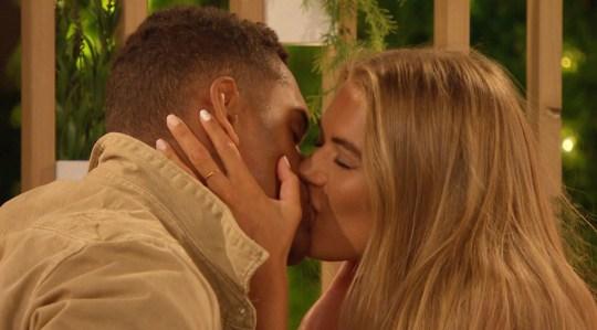 Love Island's Arabella and Danny