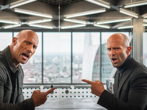 Hobbs & Shaw is coming for Mission: Impossible with '30 gravity defying stunts' says Dwayne Johnson