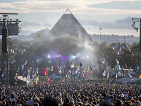 Where is the main stage at Glastonbury and what is it called?