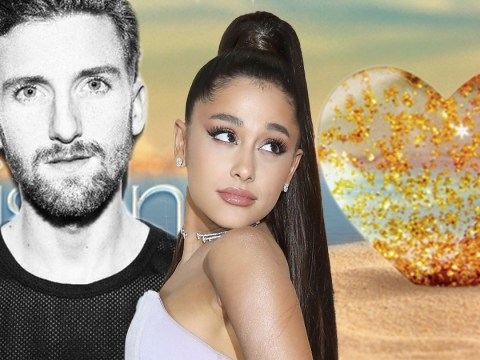 Who sings the cover of Ariana Grande's Into You featured on Love Island?