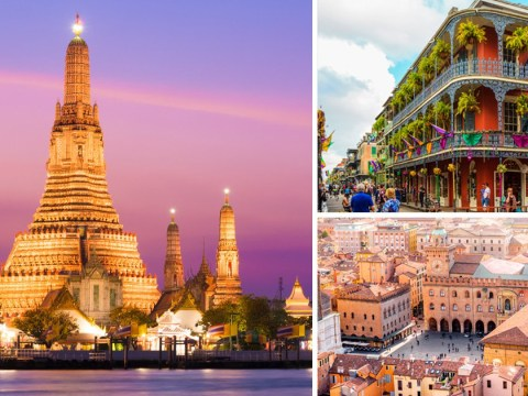 You can get flights to Bangkok, New Orleans and Bologna for the price of a packet of Walkers Sensations