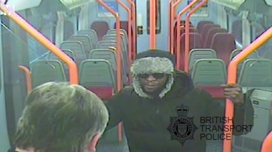 Lee Pomeroy last moments Picture: British Transport Police METROGRAB