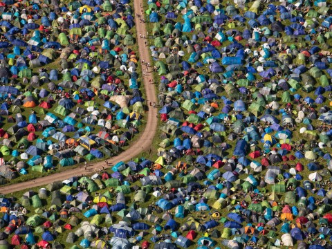 Glastonbury live webcam – what you can see