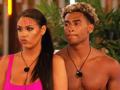 How long have Anna Vakili and Jordan Hames been a couple in the Love Island villa?