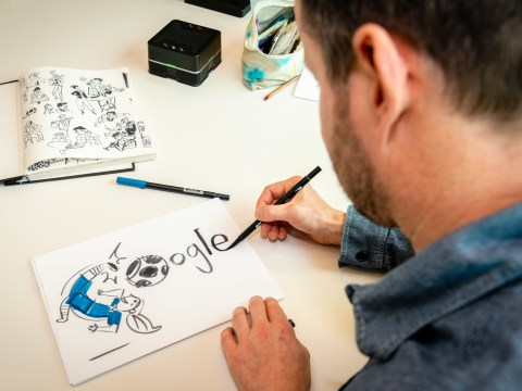 My Odd Job: Google Doodles may only last a day but they take months to create