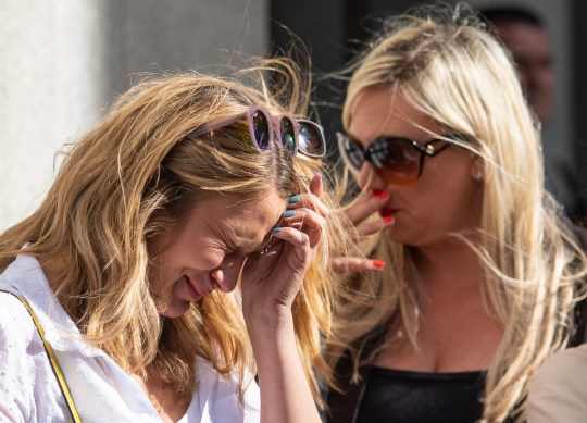 Helen Kennett (left) reacts as family members of victims give a statement at the conclusion of the inquest into the London Bridge terror attack, outside the Old Bailey, in central London. PRESS ASSOCIATION Photo. Picture date: Friday June 28, 2019. Chief Coroner Mark Lucraft QC has concluded victims of the London Bridge and Borough Market terror attacks were unlawfully killed following the inquest at the Old Bailey. See PA story INQUEST LondonBridge. Photo credit should read: Dominic Lipinski/PA Wire