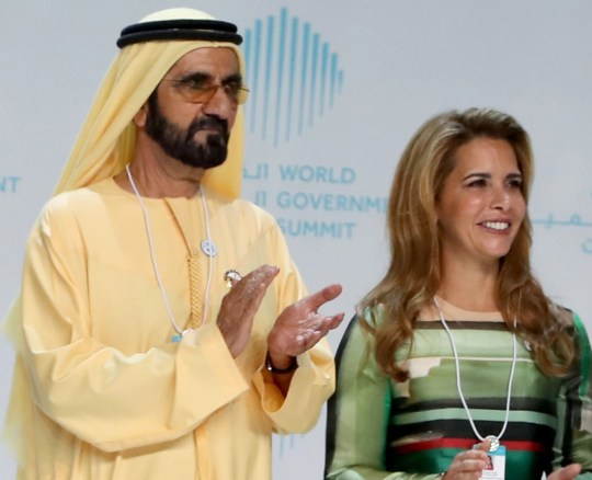 Pleas for estranged wife of Dubai ruler to help free