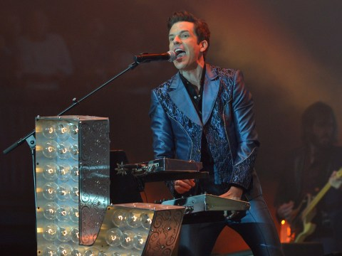 The Killers bring out Pet Shop Boys and Johnny Marr during Glastonbury set