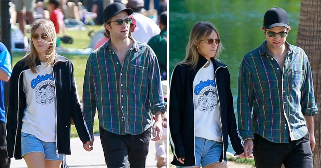 Robert Pattinson and Suki Waterhouse