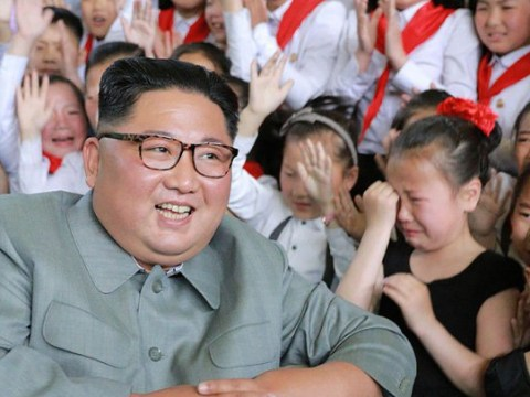 Kim Jong-un surrounded by crying children days after 'diplomat purge'