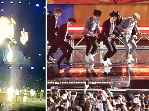 BTS' Jungkook 'feels guilty' as he apologises at Wembley Stadium for past heel injury that left him unable to perform