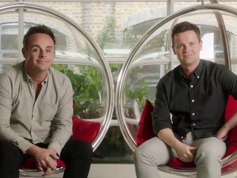 Ant and Dec follow in Simon Cowell's footsteps as they fulfill 'life-long dream' and team up with Santander