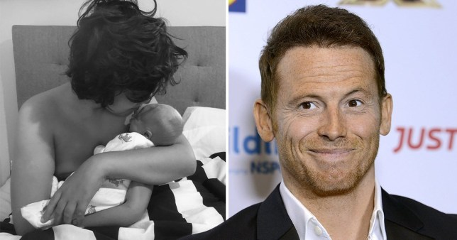 Joe Swash comes under fire for labelling picture of his two sons 'my whole world'