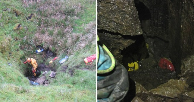 Caver trapped in Yorkshire Dales dies despite 100 people battling to save his life