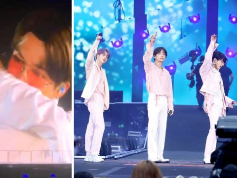 BTS sob on stage at Wembley Stadium concert after surprise Young Forever tribute from Army