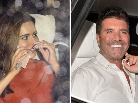 Cheryl and Simon Cowell can't stop smiling after Britain's Got Talent final