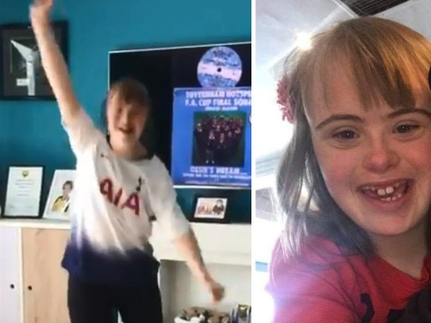 Spurs fan with Down's syndrome 'keeps on dancing' despite Champions League loss