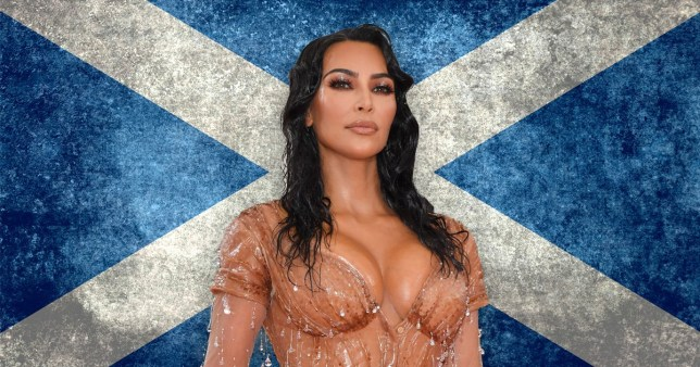 Kim Kardashian is a descendant of Scottish Royalty