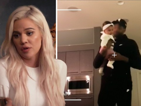 Khloe Kardashian insists she had nothing to do with Tristan Thompson's face being blurred out on Keeping Up With The Kardashians
