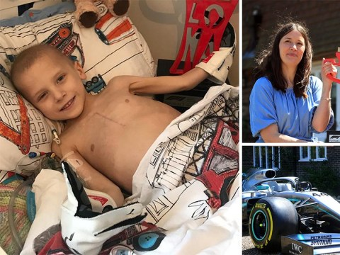 Lewis Hamiliton's 'spirit angel' Harry Shaw dies aged five