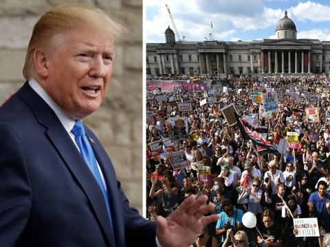 Donald Trump UK visit: Where he will be as thousands protest in London
